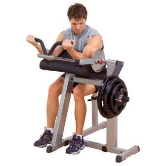 GCBT380 är en maskin för biceps och triceps från Body Solid