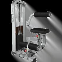 Ryggmaskin SBK1600 med justerbar sits och fotstöd
