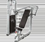SIP1400 är en incline bänkpress från Body Solid Club Line