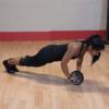 Ab wheel för din magträning från Body Solid