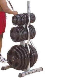 GOWT är ett viktstativ för olympiska vikter från Body Solid