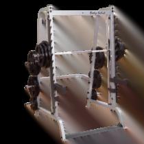Smithmaskin kombinerad med fri skivstång