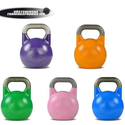 Competition kettlebells, kraftiga kettlebells av bästa kvalitet för ex. Crossfit