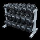 Hantelpaket 12,5 kg – 22,5 kg inkl. stativ