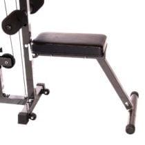 Sits för Ironmaster latsdrag och hypercore