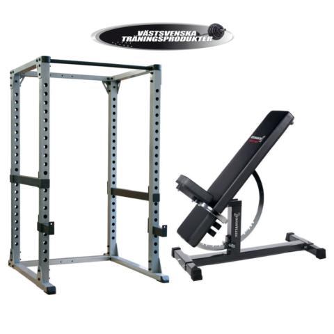 Gympaket, komplett träningspaket