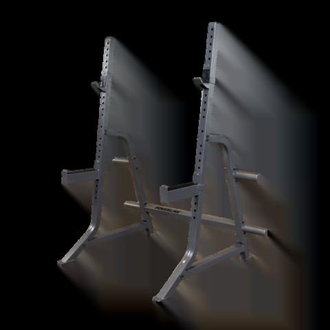 PMP150 är en kraftig och smidig skivstångsställning från Body-Solid