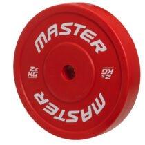 Master Fitness teknikvikt 2,5 kg