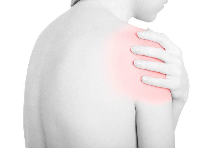 Posture Kylgel kvinna smärtlindring axlar